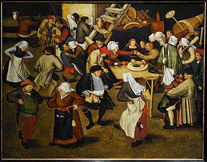 Barn dance - Wedding Dance in a Barn (c 1616)