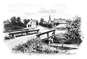 Brunsbüttel - Brunsbüttel um 1895