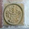 Buchholzer Schlosskapelle - Portal - Wappen (rechts unten).JPG