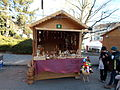 Budapest XII. Christmas Fair, Woodcarvings.JPG