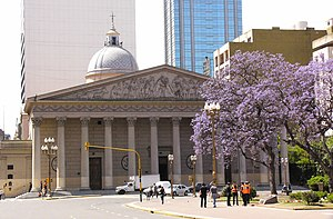 Church–state relations in Argentina - Metropolitan Cathedral of Buenos Aires, Argentina.
