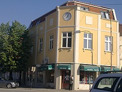 Building in the center of Bujanovac