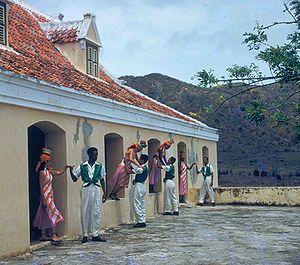 Netherlands Antilles - A Bulawaya dance in Curaçao