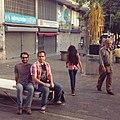 Bulevar de Sabana Grande y mobiliario urbano público 2.jpg
