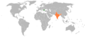 Bulgaria India Locator.png