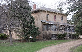 National Register of Historic Places listings in Faribault County, Minnesota - Image: Bullis House