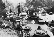 Bundesarchiv Bild 146-1976-071-36, Polen, an der Brahe, deutsche Panzer