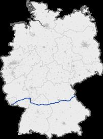 Bundesautobahn 6s forløb