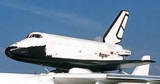 Buran (spacecraft) - Orbiter 1K1 at the 1989 Paris Air Show