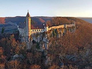Burg Teck Ducal castle in the kingdom of Württemberg