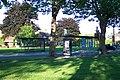 Bus shelters on Kingfield Green, Woking - geograph.org.uk - 41052.jpg