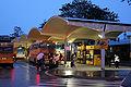 Bus station Brno Grand in night 1.jpg