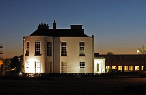 Bushy Park, Dublin - Bushy Park House at night