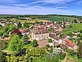Buthiers, le château (vue aérienne).jpg