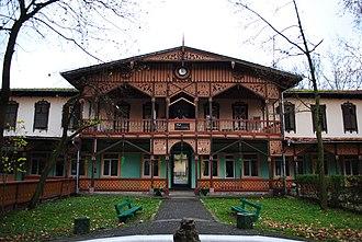 Buziaș - Image: Buzias Ansamblu balnear (2)