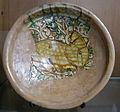 C.sf., emilia, bacile, ceramica graffita prerinascimentale, terzo quarto XV secolo.JPG