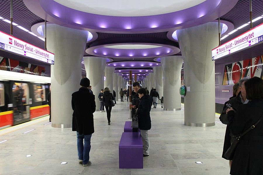 Nowy Świat-Uniwersytet metro station
