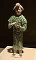 CMOC Treasures of Ancient China exhibit - tri-coloured figure of a servant.jpg