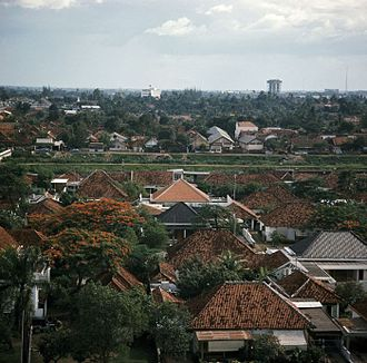 Menteng - Menteng residential area in the 1970s.