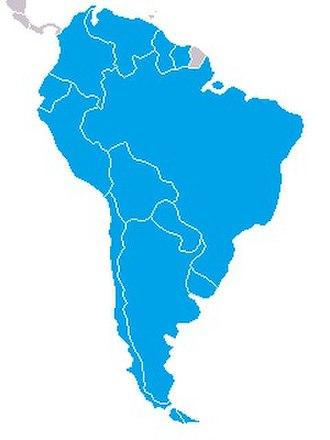 Confederación Sudamericana de Natación - Members of Consanat.