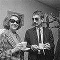Cabaretière en zangeres Conny Stuart en jazzmuzikant Piet Kuiters tijdens de ope, Bestanddeelnr 918-3398.jpg