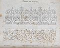Cabinet-making; decorative borders. Engraving by E. Turrell Wellcome V0023936.jpg