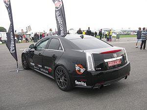 Cadillac CTS-V - Cadillac CTS-V sedan