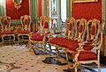 Cadires estil reina Anna, sala roja del palau del marqés de Dosaigües.JPG