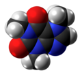 Caffeine molecule spacefill from xtal (1).png