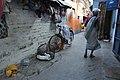 Caged Rabbit And Old Woman - Chitpore - Kolkata 2017-04-29 1886.JPG