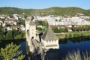 Cahors - The bridge