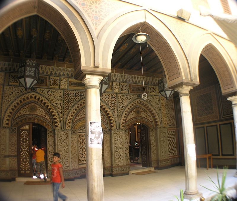 Cairo - Coptic area - Hanging Church entrance.JPG