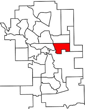Calgary-East - 2010 boundaries