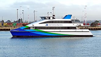 MTU Friedrichshafen - Image: California 05789 San Francisco Bay Ferry (20016717623)