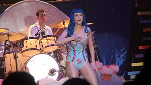 Firework (song) - Perry performing the song on her California Dreams Tour
