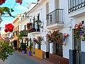 Calle San Miguel from the top - Estepona Garden of the Costa del Sol.jpg