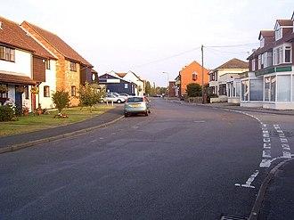 Fawley, Hampshire - Image: Calshot Road, Fawley. geograph.org.uk 1541901