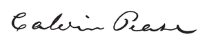 Calvin Pease - Image: Calvin Pease signature