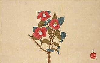 Ryūsei Kishida - Image: Camellias by Kishida Ryusei (Pola Museum of Art)