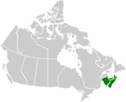 Map Of Canada Maritime Provinces The Maritimes   Wikipedia