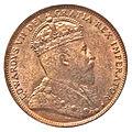 Canada Newfoundland Edward VII Cent 1904H (obv).jpg
