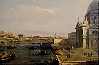 Canaletto - The Grand Canal at the Salute Church.JPG