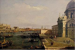Santa Maria della Salute and Riva degli Schiavoni, Venice