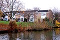 Canalside houses on Fellmore Grove, Sydenham estate - geograph.org.uk - 1577977.jpg