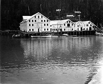 Cordova, Alaska - Carlisle Packing Co. cannery in Cordova, August 1917