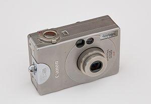 Canon Digital IXUS - The original Canon Digital IXUS