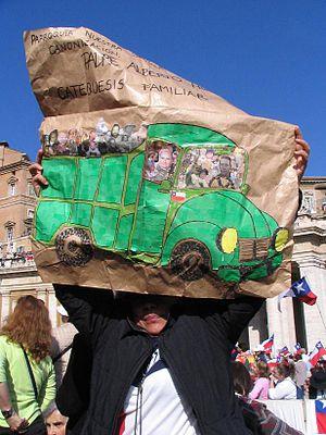 Alberto Hurtado - Fr. Hurtado's memorable green pickup truck