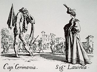 Innamorati - Image: Captain Cermonia and Larinia