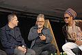 Carlinhos Brown, Ronaldo Fraga e Paulo Borges discutem o futuro da moda @ São Paulo Fashion Week em Junho de 2011.jpg