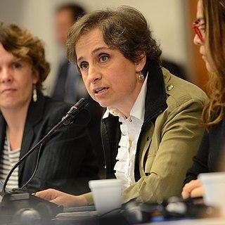 Carmen Aristegui Mexican journalist